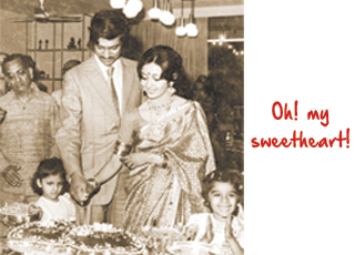 Ajay Piramal old pic with family