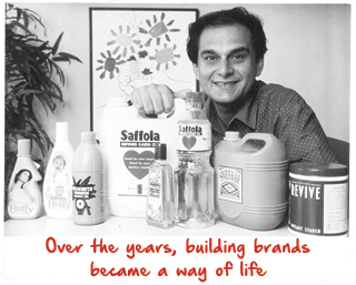 Harsh Mariwala Building brands over the years