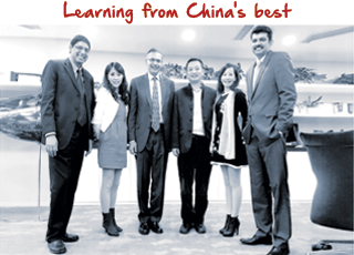 Deep Kalra learning fro china