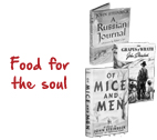 books are food for soul