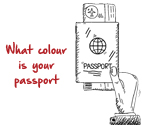 What colour is your passport