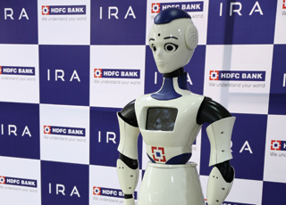 HDFC Bank robot