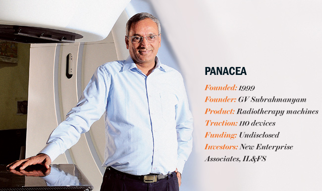 Gv Subrahmanyam, Co-founder and managing director, Panacea
